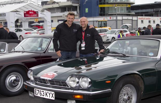 Jaguar fährt Königliches bei der