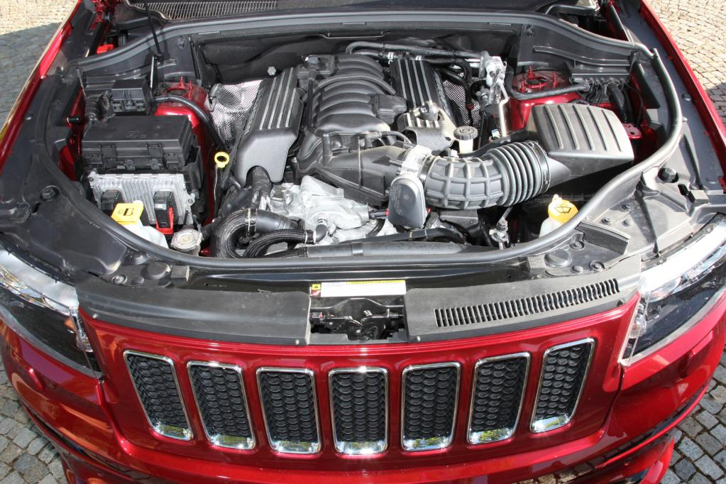 Jeep Grand Cherokee SRT: Keine Antwort auf Sinnfragen