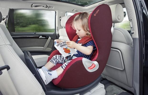 Kindersitze - Besser rückwärts