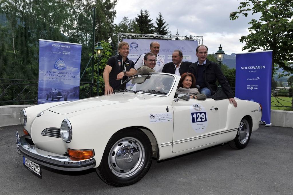 Kitzbüheler Alpenrallye lockt Autos und Promis
