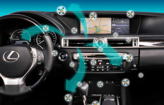 Klimaautomatik des Lexus GS ist