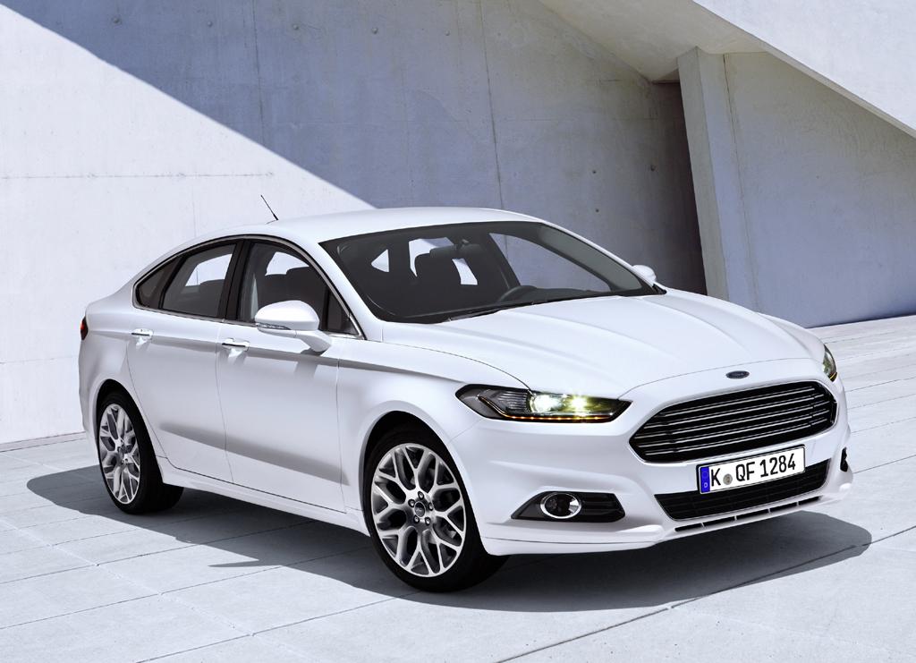 Kommt 2013: Fords neuer Mondeo.