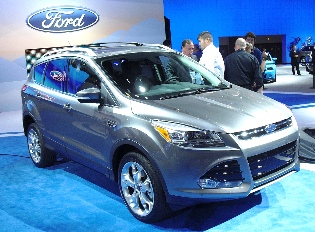 Kommt ebenfalls 2013: Fords neuer Kuga, hier in der US-Version Escape.