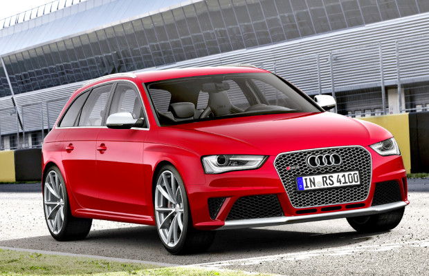 Kompakter Über-Kombi: Audis RS4- Achtzylinder-Avant kommt ab Herbst