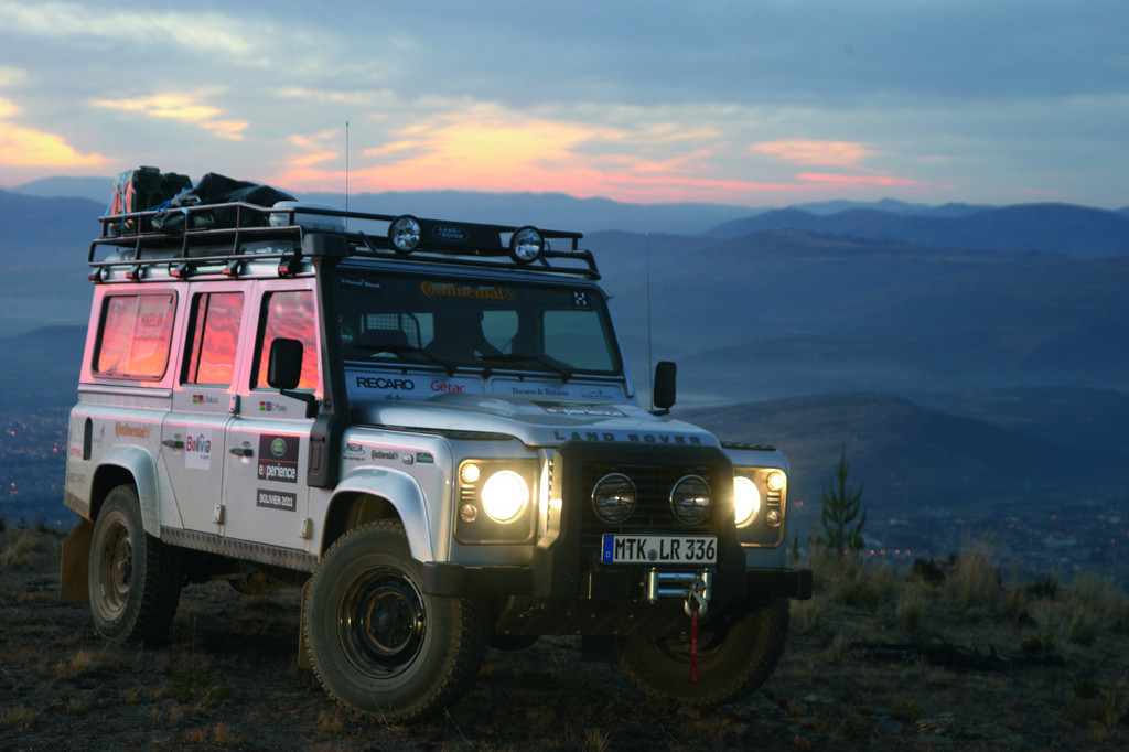 Land Rover sucht in Bad Kissingen Abenteurer