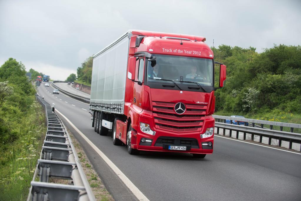 Mercedes-Benz Actros: Moderne Zeiten