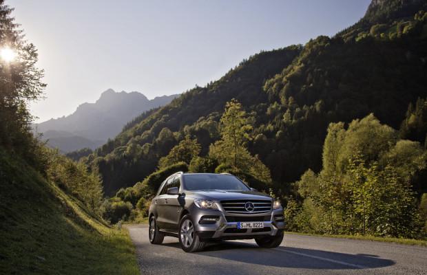 Mercedes-Benz ergänzt Angebot der M-Klasse