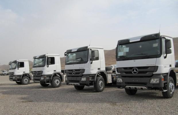 Mercedes-Benz lieferte 250 Actros in den Irak