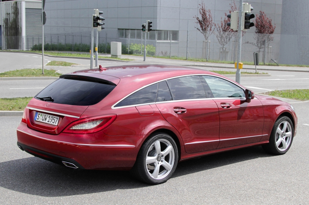 Mercedes CLS Shooting Brake - Coupé-Kombi ab 70.000 Euro