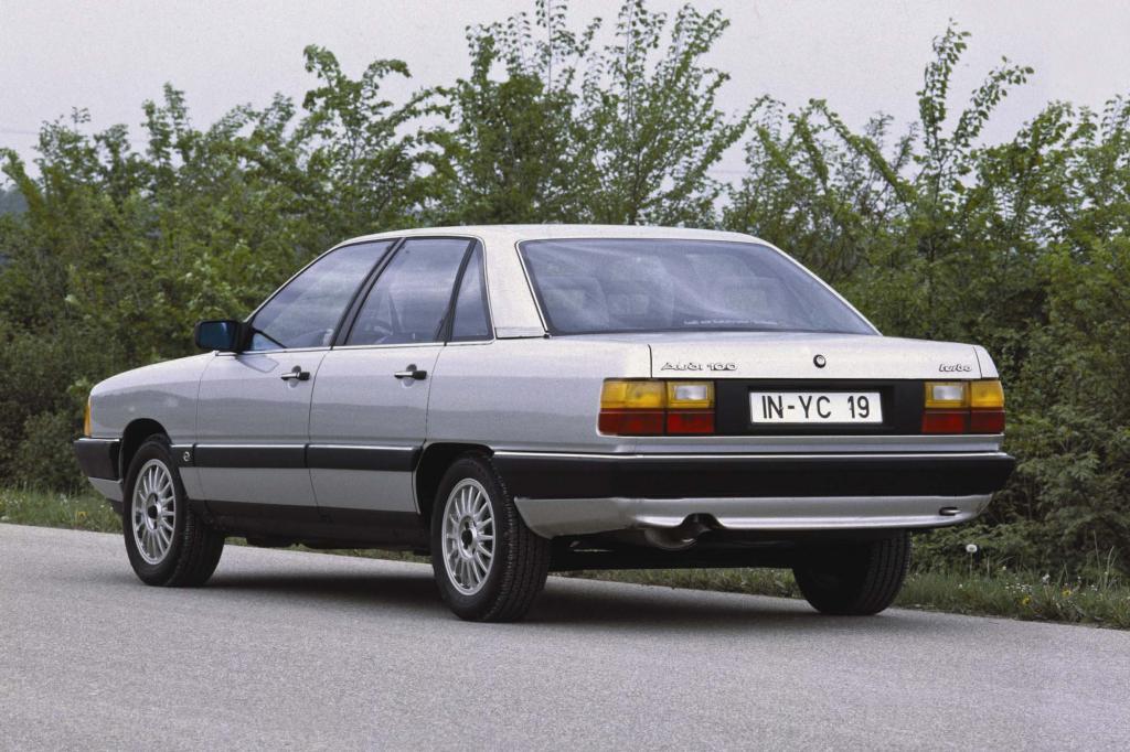 Mit dem Audi 100 der Generation C3 legten die Ingolstädter jede Biederkeit ab