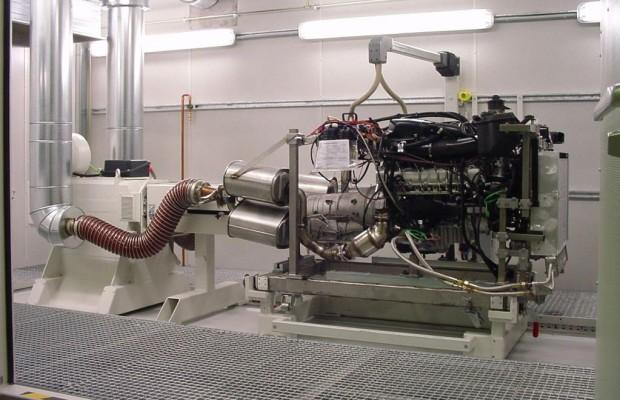 Motoren auf dem Prüfstand