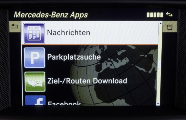 Nachrichten-App für das Mercedes