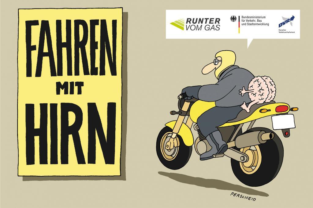 Neue Broschüre zur Motorradsicherheit
