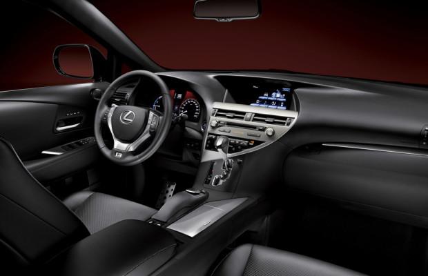 Neues Multimedia-System für den Lexus RX 450h
