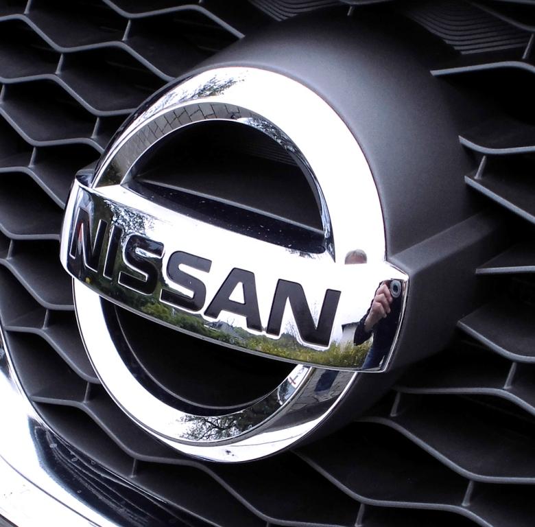 Nissan Murano: Das Markenlogo sitzt vorn mittig im Kühlergrill.
