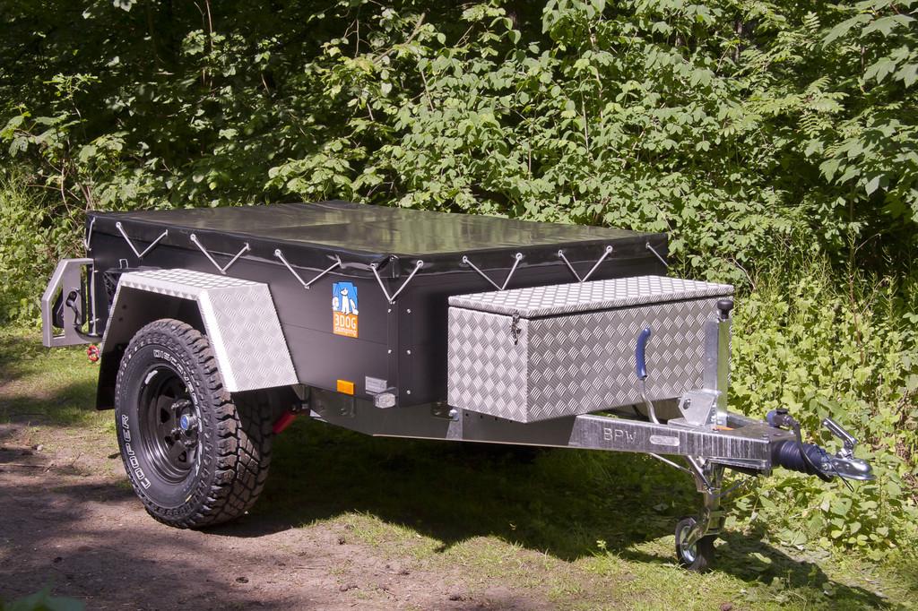Offroad-Anhänger von 3Dog Camping vielfältiger nutzbar