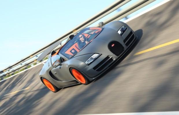 Panorama: Bugatti Veyron Vitesse - Heizen bis zum Horizont