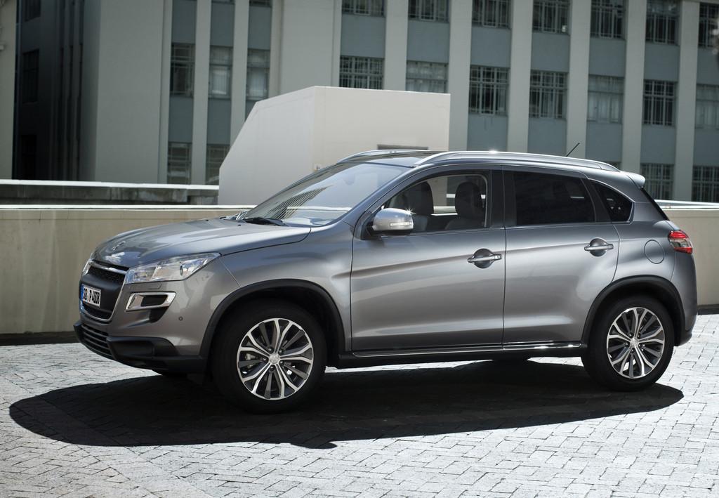 Peugeot 4008 jetzt auch in Deutschland