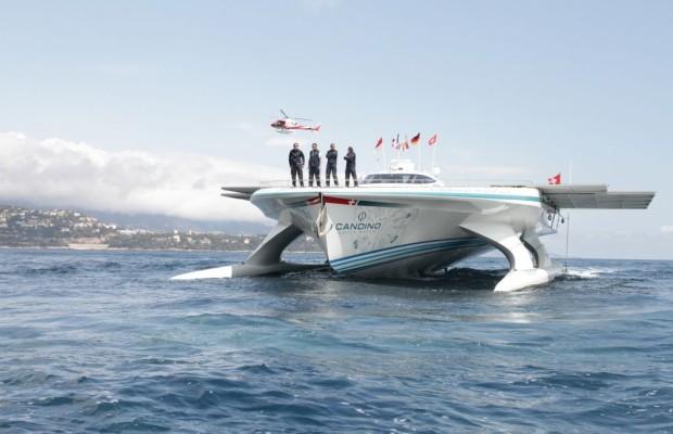PlanetSolar geht auf Promotiontour im Mittelmeer