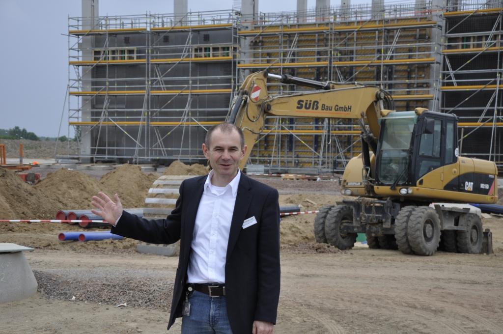 Porsche Baustellensafari: Baufortschritt der Macan-Fertigungshalle und Energiebilanz im Grünen Bereich | Christoph Beerhalter, Projektleiter der Macan-Baureihe