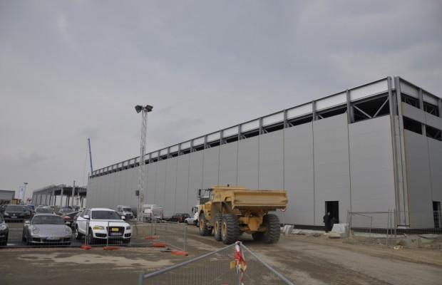 Porsche Baustellensafari: Baufortschritt der Macan-Fertigungshalle und Energiebilanz im Grünen Bereich