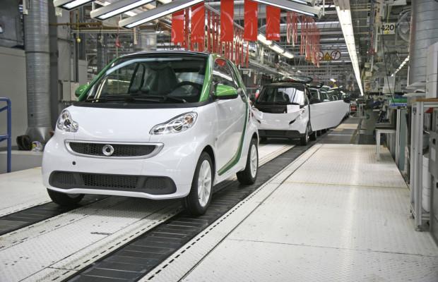 Produktion und Verkauf des neuen Smart Fortwo Electric Drive angelaufen