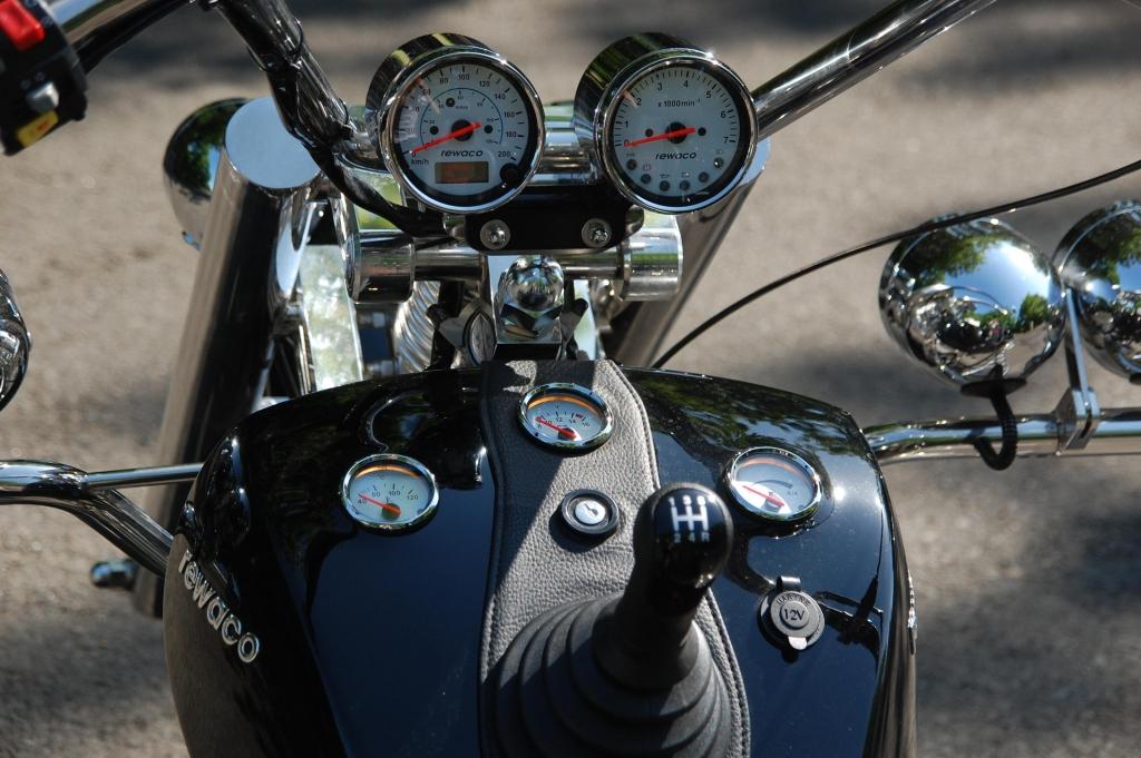 Rewaco Trike RF1 LT 2: Es muss kesseln ...