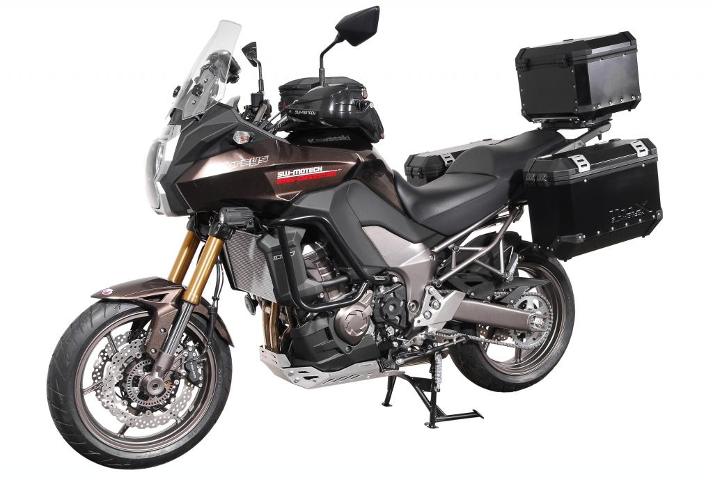 SW-Motech rüstet Kawasaki Versys 1000 aus