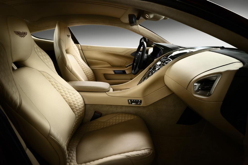 Schöner und praktischer ist der neue Aston geworden