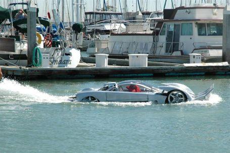 Schnellstes Amphibienauto zum Verkauf