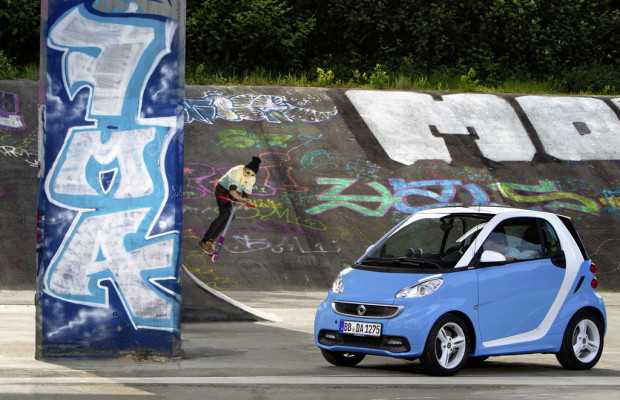 Smart Fortwo Edition Iceshine in Weiß oder Blau