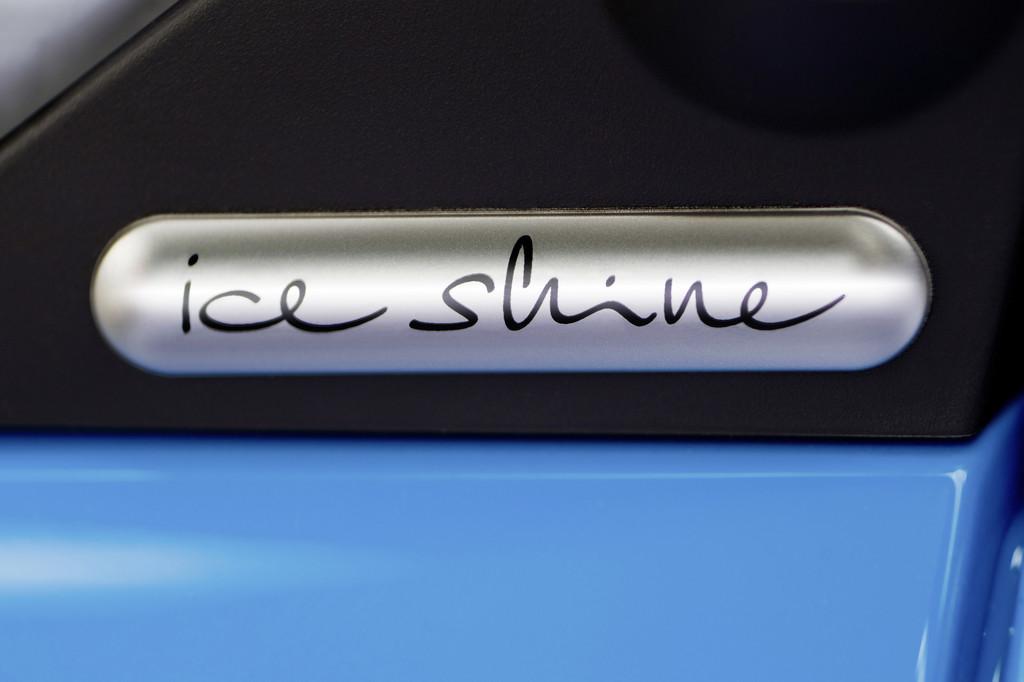 Smart Fortwo Edition Iceshine in Weiß oder Blau