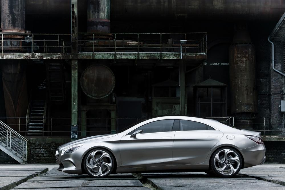 So könnte der künftige Mercedes CLA aussehen