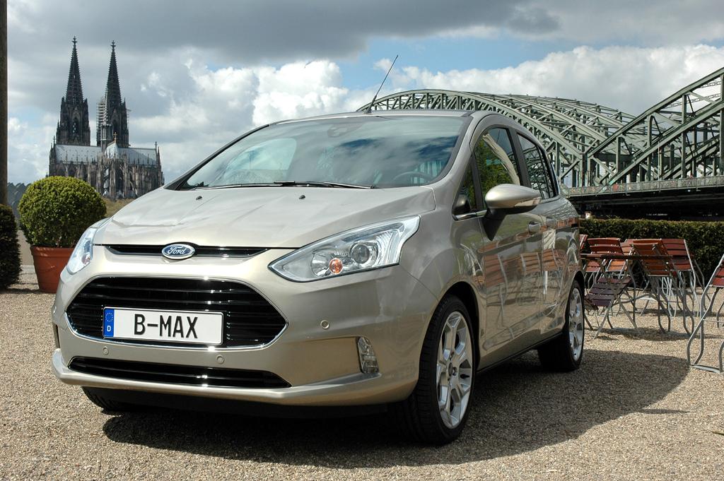 Startet schon im Herbst: Ford-Minivan B-Max.