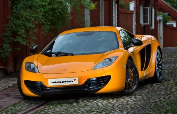 Supersportler von McLaren mit über 300 km/h und offenem Visier