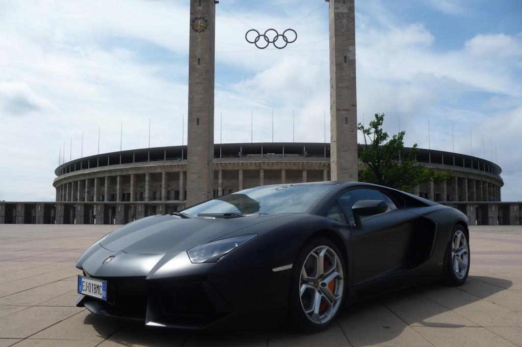 Test: Lamborghini Aventador LP 700-4 - So schnell es geht