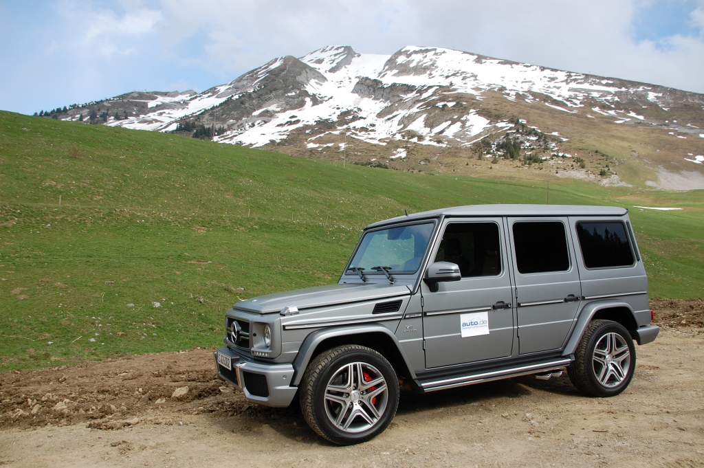 Test Mercedes G-Klasse: Update für den (G)oldie