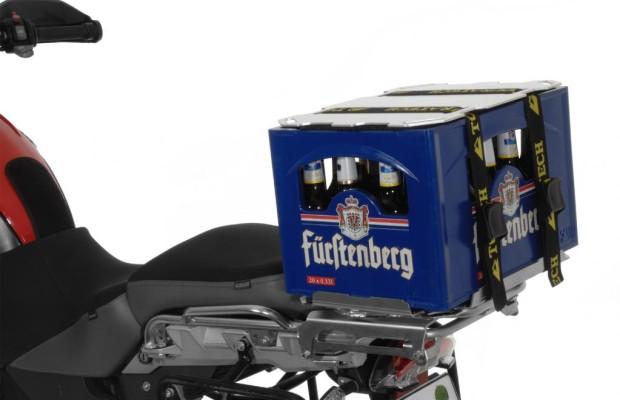 Touratech: Bierkistenhalter fürs Motorrad