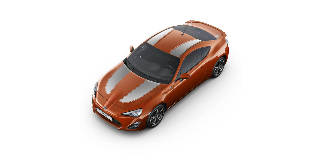 Toyota bietet Zubehör für den GT86