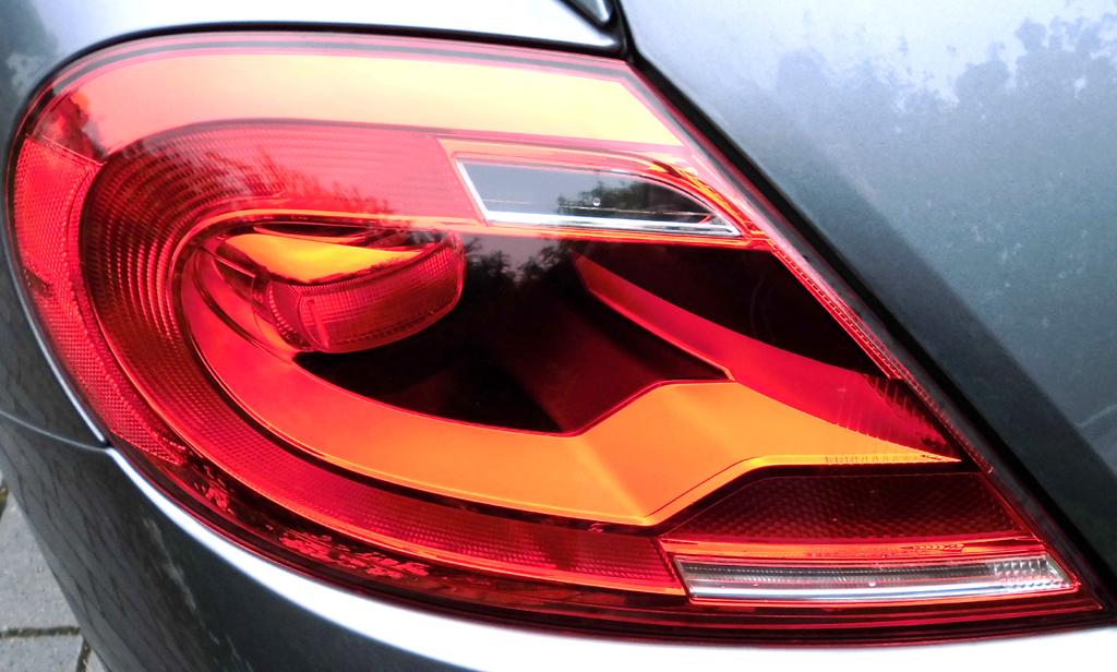 VW Beetle: Moderne Leuchteinheit hinten.