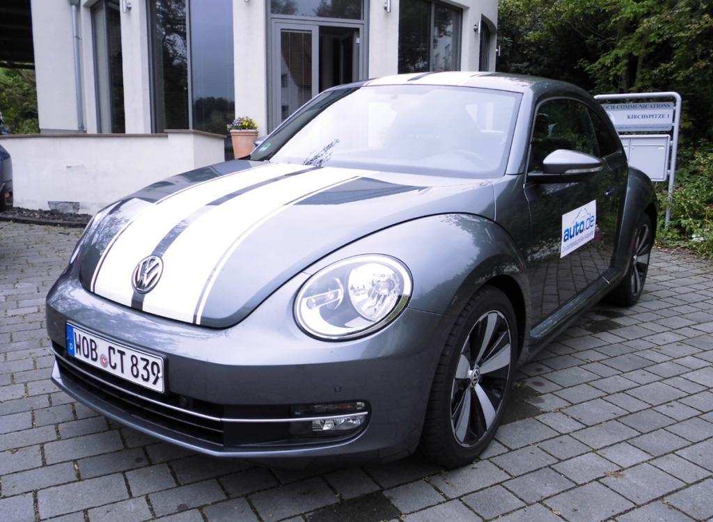 VW Beetle, hier als Design-Basisdiesel mit 77/105 kW/PS. Fotos Koch