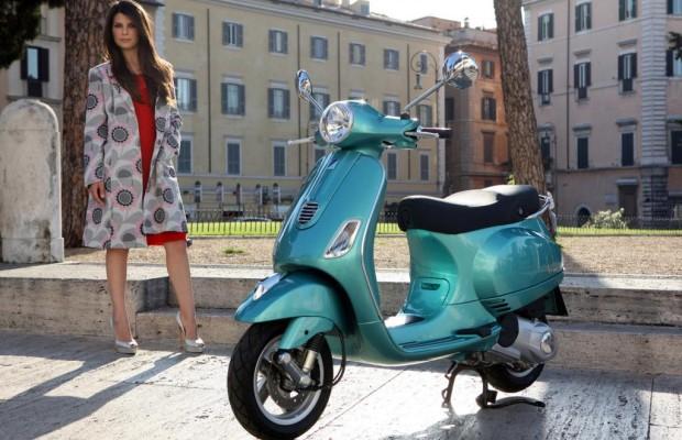 Vespa 125 mit Dreiventilmotor - Italienische Impressionen