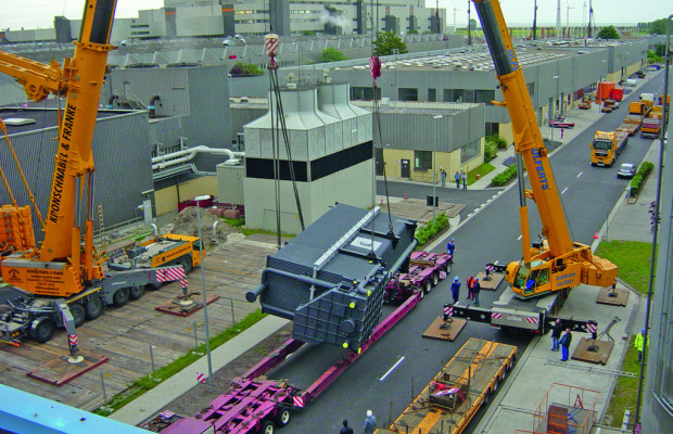 Volkswagen Kraftwerk modernisiert Heizhaus in Emden