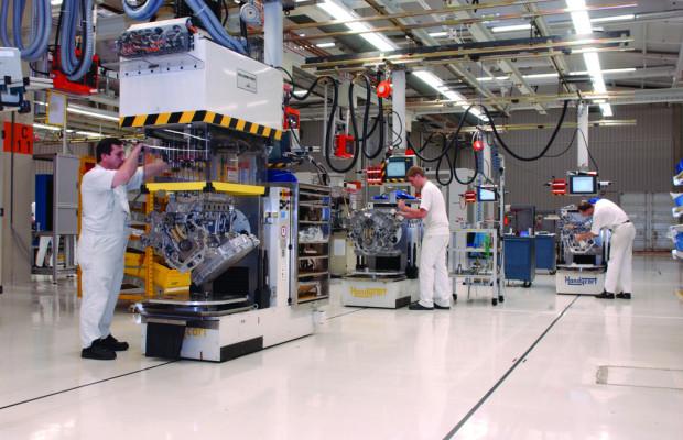 Volkswagen feiert 50 Millionen Motoren aus dem Werk Salzgitter