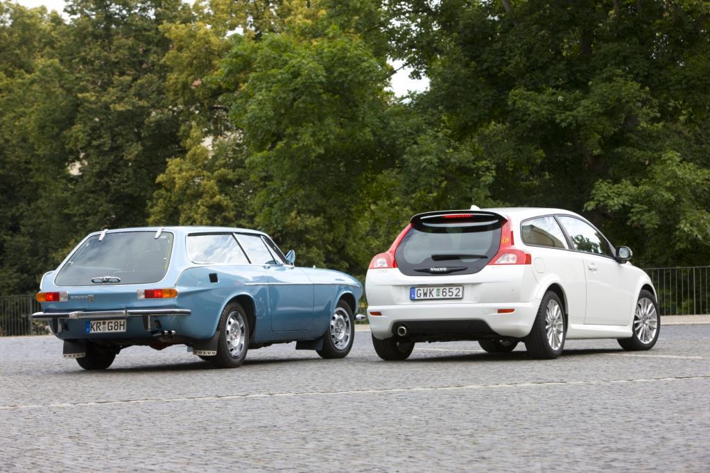 Volvo 1800 ES trifft Volvo C 30