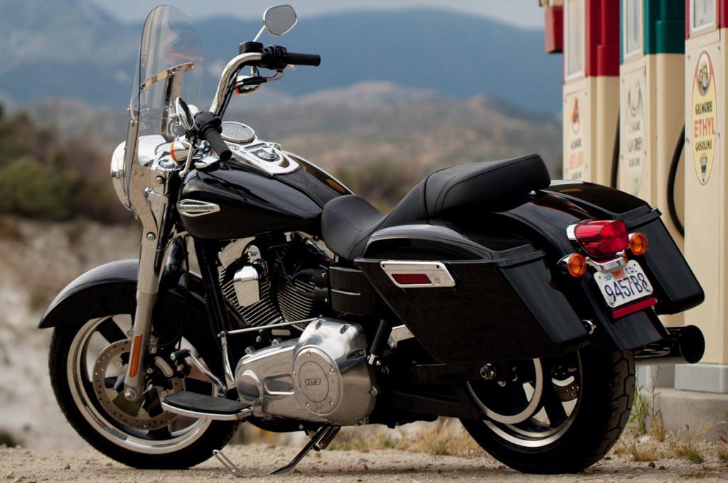 Was bei einer Harley zählt, ist das Drehmoment und der Auftritt