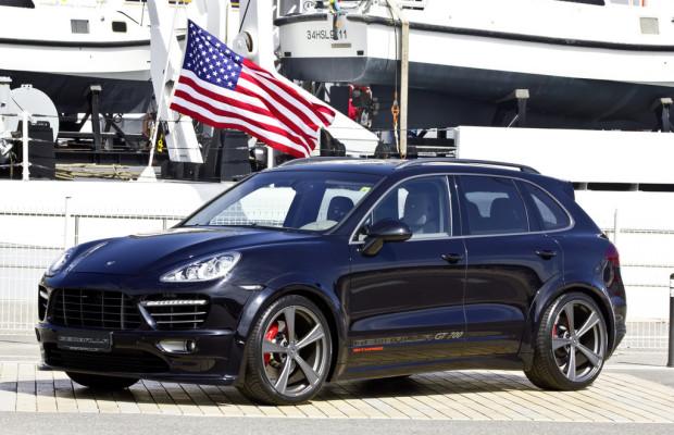 Weiteres Aerodynamik-Paket von Gemballa für Porsche Cayenne