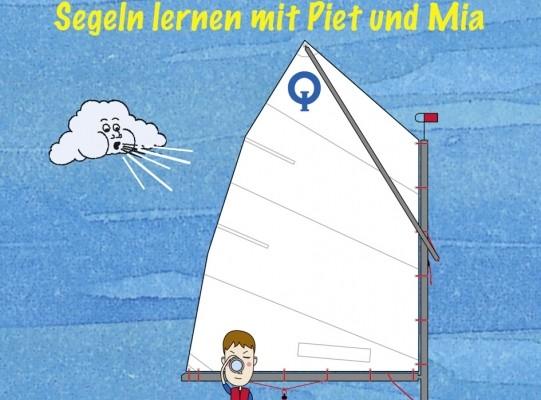 auto.de-Buchtipp: Mein Opti-Buch, Segeln lernen mit Piet und Mia