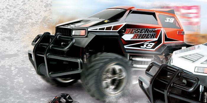 auto.de Gewinnspiel: Wüstenrallye mit dem Desert Rider von Carrera RC