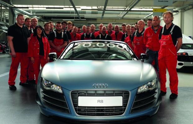 20 000ster Audi R8 verlässt Neckarsulmer Manufaktur